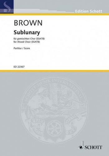Sublunary (Schott)