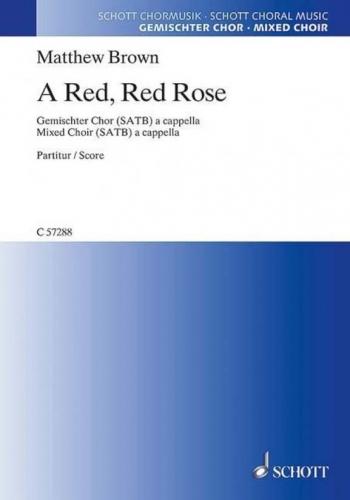 A Red, Red Rose (Schott)