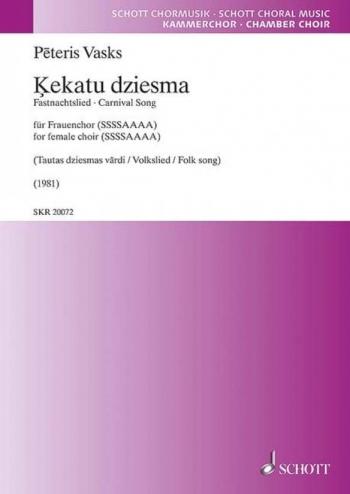 Kekatu dziesma (Schott)