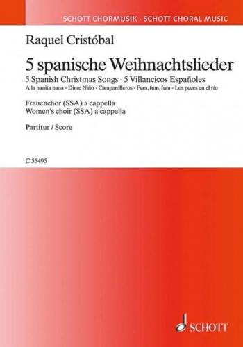 5 Spanish Christmas Songs (Schott)