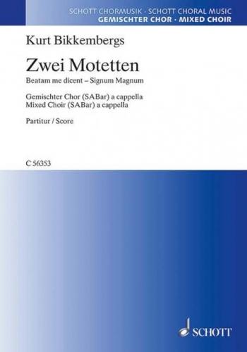 Two Motets (Schott)