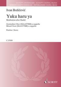 Yuku haru ya (Spring passes) (Schott)