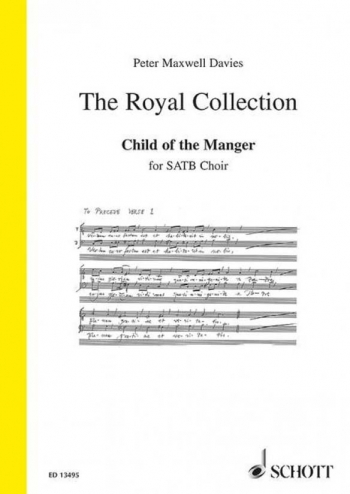 Carol: Child of the Manger op. 256 (Schott)