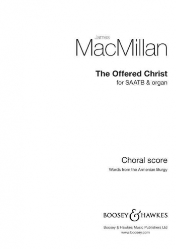The Offered Christ (Boosey)