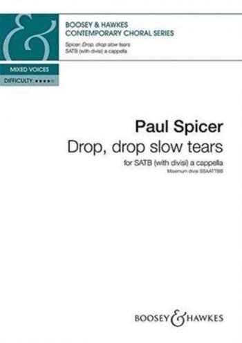 Drop, drop slow tears (Boosey)