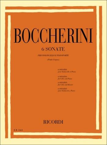 6 Sonatas For Violoncello: Cello & Piano