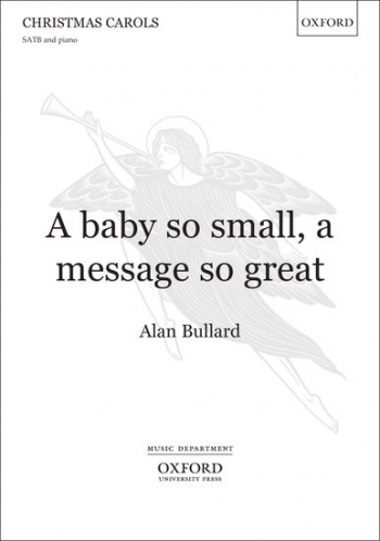 A baby so small, a message so great: SATB & piano