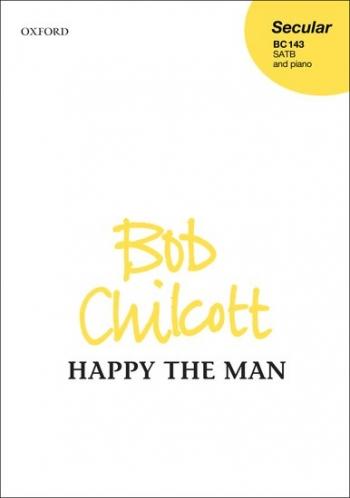 Happy the man: SATB & piano