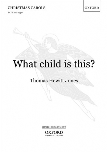 What child is this?: SATB & organ/chamber orchestra