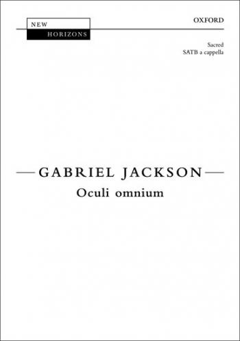 Oculi omnium: SATB unaccompanied
