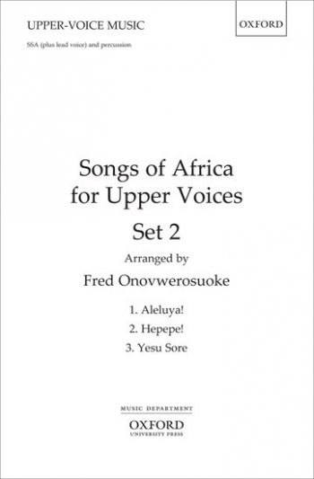 Songs of Africa for Upper Voices Set 2: SSA (plus lead voice) & percussion