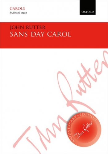 Sans Day Carol: SATB & piano/small orchestra