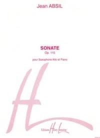 Sonate Op.115  Alto Saxophone & Piano(Lemoine)