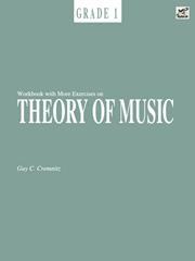 Workbook With More Exercises On Theory Of Music Grade 1 (Cremnitz