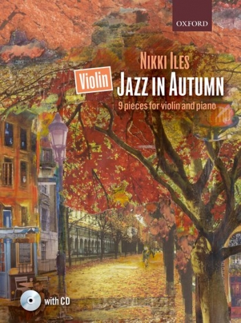 Jazz In Autumn: Violin & Piano Book & CD (Nikki Iles)