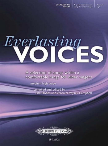 Everlasting Voices Medium High: Selction Of Songs Within A Comfortable Range (Peters)