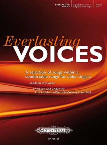 Everlasting Voices Medium Low: Selction Of Songs Within A Comfortable Range (Peters)
