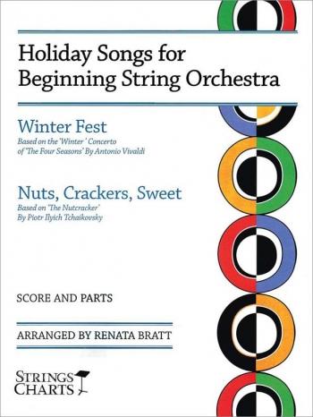 Holiday Songs For Beginning String Orchestra: Score & Parts  Arr Renata Bratt