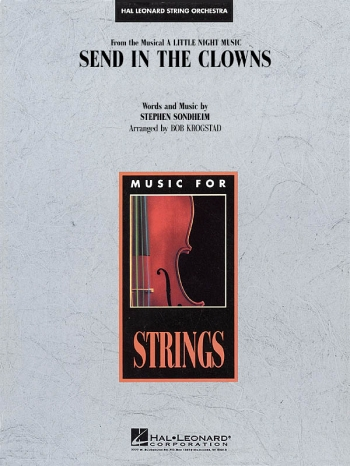 Send In The Clowns String Orchestra: Score & Parts  Arr Bob Krogstad