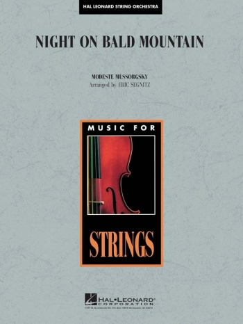 Night On Bald Mountain String Orchestra: Score & Parts  Arr Eric Segnitz