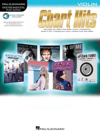 Instrumental Play-along: Chart Hits: Violin: Book & Downloads