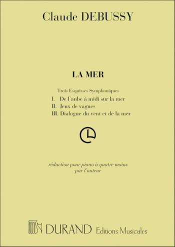 La Mer 4 Mains: Piano, 4 Hands (Durand)