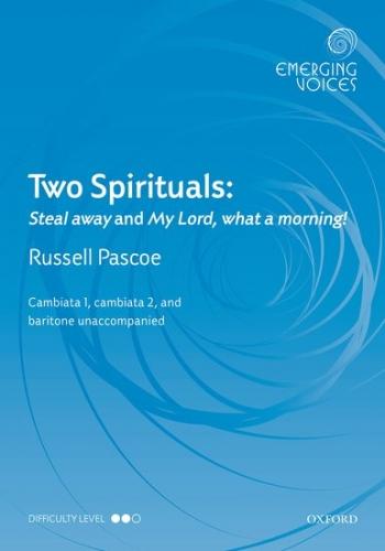 Two Spirituals: CCBar unaccompanied: (OUP)