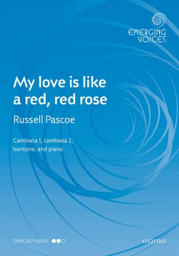 My love is like a red, red rose: CCBar & piano: (OUP)
