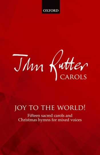 Joy to the World: SATB accompanied & unaccompanied: (OUP)