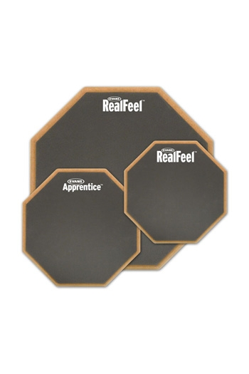 "Practice Pad Real Feel Evans Apprentice 7"" Mountable Practice Pad"