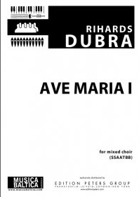 Ave Maria I  Vocal SSAATBB (Musica Baltica)