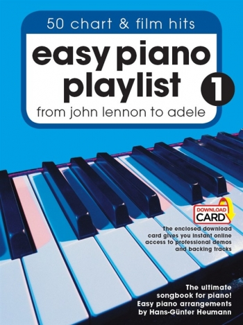 Easy Piano Playlist: Volume 1: From John Lennon To Adele (Book/Audio Download)