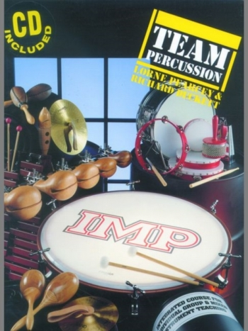 Team Percussion: Book & Cd