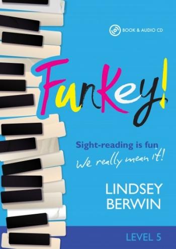 Funkey! - Level 5 Sight-reading Is Fun Piano Book & Audio CD (Berwin) (Mayhew)