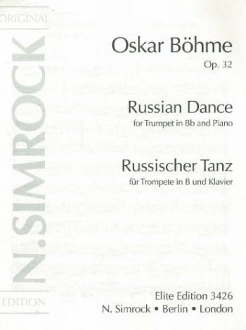 Russian Dance, Op. 32 Bb Major : Trumpet & Piano (Simrock )
