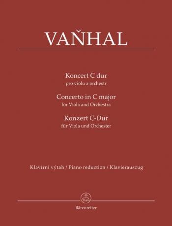 Concerto In C Major For Viola & Piano (Barenreiter)