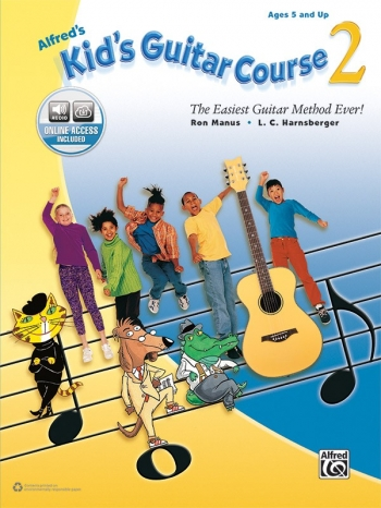 Alfred Kids Guitar Course: Book 2: Book & Online Access