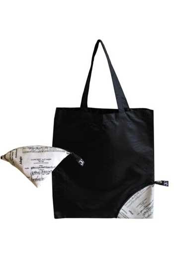 Folding Shopping Bag Music