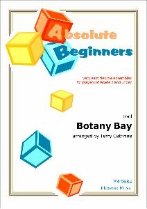 Absolute Beginners: Botany Bay: 4 Part Flexible Ensemble: Score & Parts