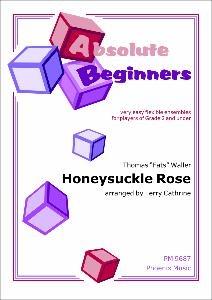 Absolute Beginners: Honeysuckle Rose: 4 Part Flexible Ensemble: Score & Parts