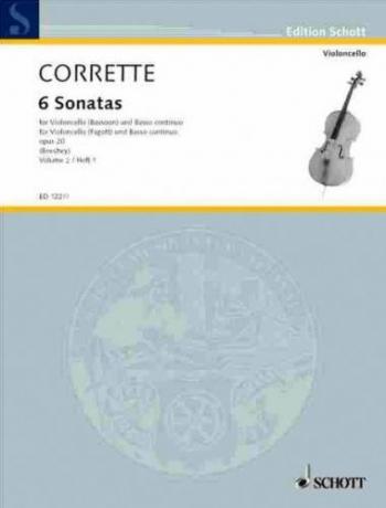 Les Délices De La Solitude, Op. 20: 6 Sonatas Vol 2: Bassoon & Piano