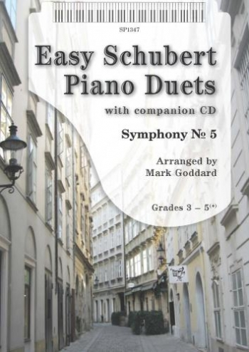 Easy Schubert Duets: Piano Duet: Gr 3-5: Book & Cd (goddard)