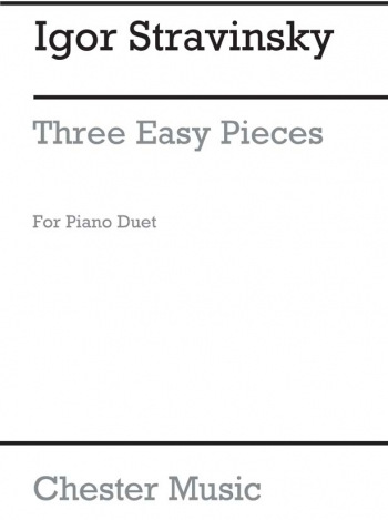 Three Easy Pieces For Piano Duet (Chesters)