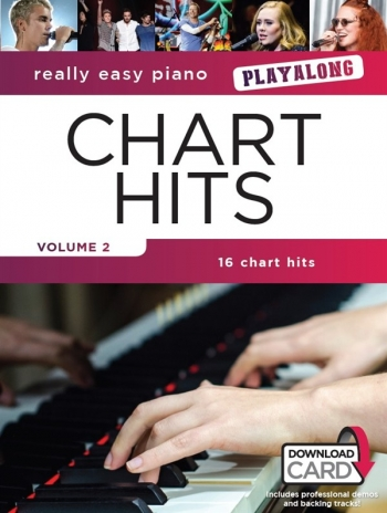 Really Easy Piano Chart Hits Vol.2: Playalong Book & Download Card