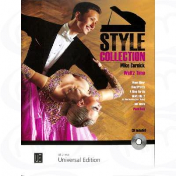 Style Collection Waltz Time Piano  Book & Cd (Cornick)