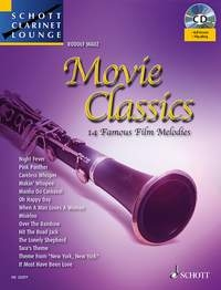 Schott Clarinet Lounge: Movie Classics: Clarinet Book & CD (Mauz)