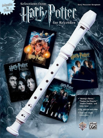Harry Potter For Recorder, Selections: Recorder And Music