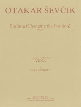 Shifting (Changing The Position) Op. 8 Viola (Presser)