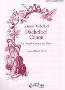 Canon: Flute, Clarinet In Bb And Piano (arr Dorff)