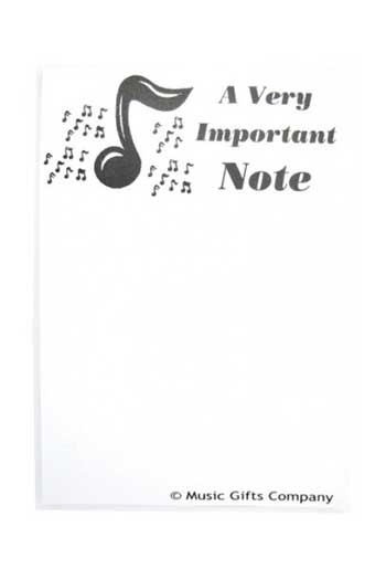 Notepad: A Very Important Note
